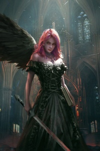240x320 Dark Angel