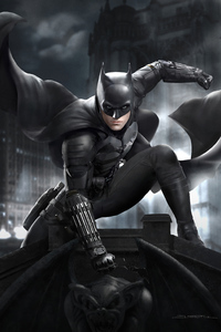 480x800 Dark Batman 5k