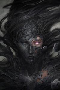 Dark Demon Fantasy Witch 8k