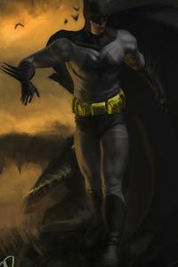 1080x1920 Dark Knight 5k 2019