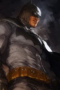 Dark Knight Batman Art 4k