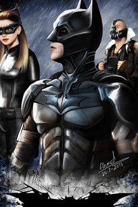 Dark Knight Rises Art