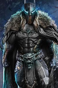 1440x2560 Dark Knight Warrior Art