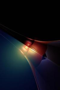 Dark Light Abstract 4k