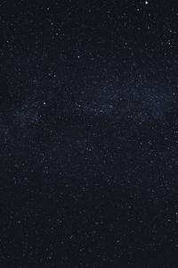 720x1280 Dark Milky Way Galaxy 5k