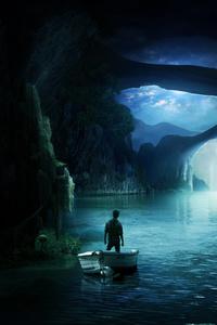 Dark Night Boat