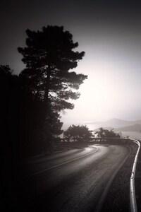 1125x2436 Dark Road