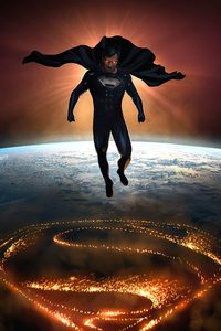 2160x3840 Dark Superman