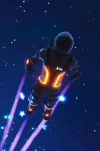 Dark Voyager Skydive Fortnite Battle Royale 4k