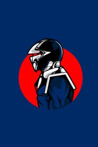 1125x2436 Darkhawk Minimalism