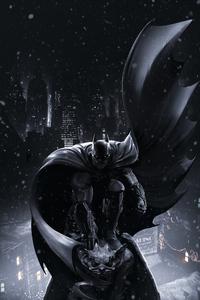 Darkness Of Batman Arkham Origins 5k