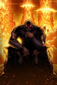 720x1280 Darkseid Comic Art 5k