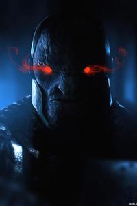 1125x2436 Darkseid Red Eyes