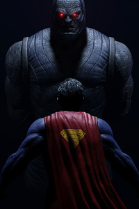 640x1136 Darkseid Vs Superman