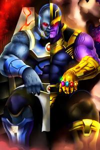 Darkseid Vs Thanos 4k