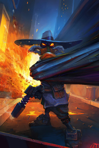 1080x2160 Darkwing Duck
