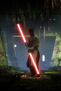 2160x3840 Darth Maul Star Wars Battlefront 2 8k