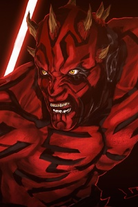 2160x3840 Darth Maul Star Wars