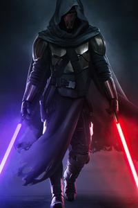 1242x2688 Darth Revan Star Wars 4k