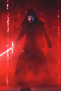 320x480 Darth Vader 4k 2019