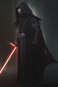 240x320 Darth Vader 4k Artwork