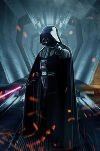 640x960 Darth Vader From Star Wars 4k