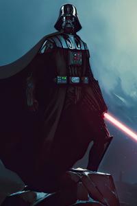 640x1136 Darth Vader Laser Sword