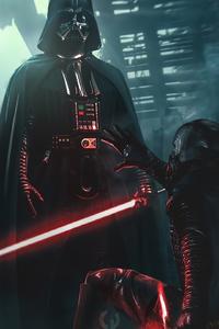 320x568 Darth Vader Mask