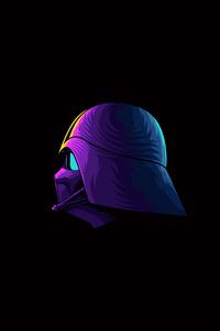 1080x1920 Darth Vader Minimalism 4k Artwork