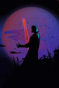 1080x2280 Darth Vader Newart