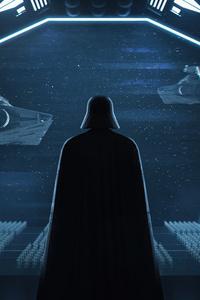 540x960 Darth Vader Ship 8k
