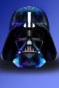 Darth Vader Star Wars Abstract