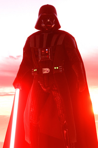 1080x2160 Darth Vader Star Wars Battlefront 2 4k