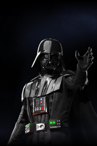 1242x2688 Darth Vader Star Wars Battlefront 2