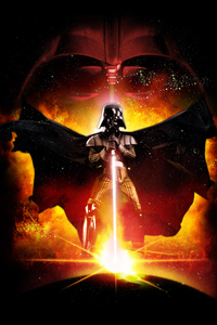 480x800 Darth Vader Star Wars Poster 4k