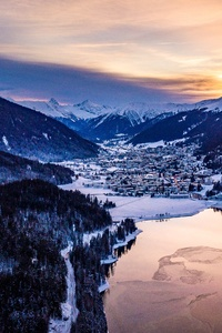 Davos Switzerland 4k