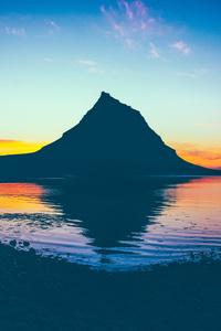 Dawn Landscape Sky Sea 5k