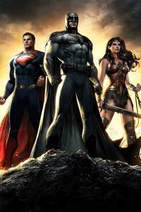 Dawn Of Justice Superheroes 4k