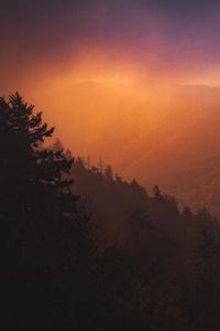 Dawn Overy Smoky Mountains 4k