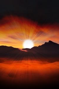 Dawn Sunset 4k