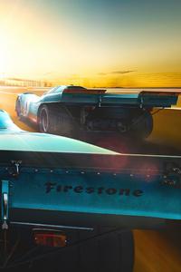 480x800 Daytona Racing Cars