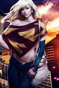 1242x2688 DC Comics Super Girl