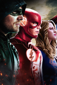 1080x2160 Dc Cw All Superheroes