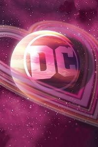 Dc Logo Love 4k