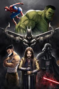 320x568 Dc Marvel Heroes
