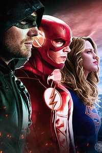 720x1280 Dc Tv Arrow Flash Supergirl