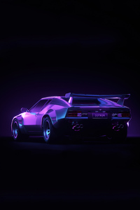 640x960 De Tomaso Pantera 4k