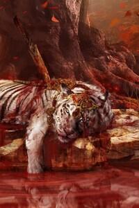 Dead Tiger In Far Cry 4