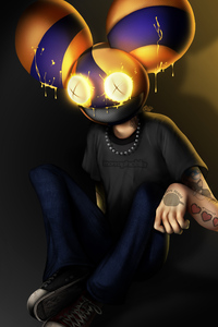 480x854 Deadmau5 Fan Artwork