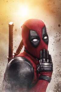 640x1136 Deadpool 2 5k New Poster
